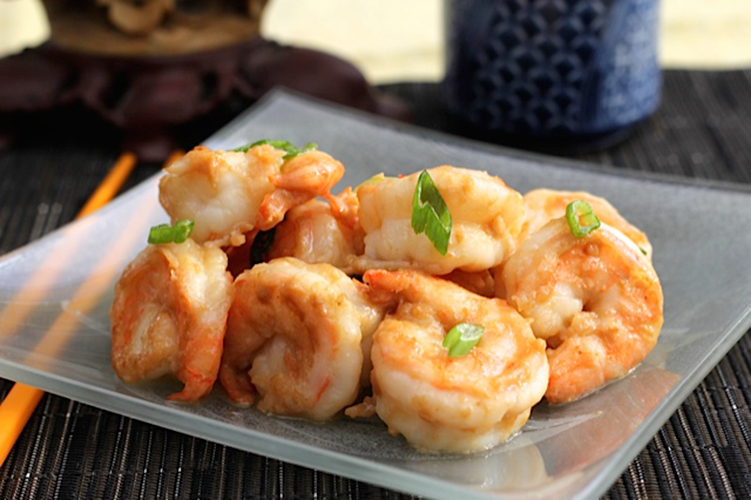 shrimp-with-miso-butter-sauce