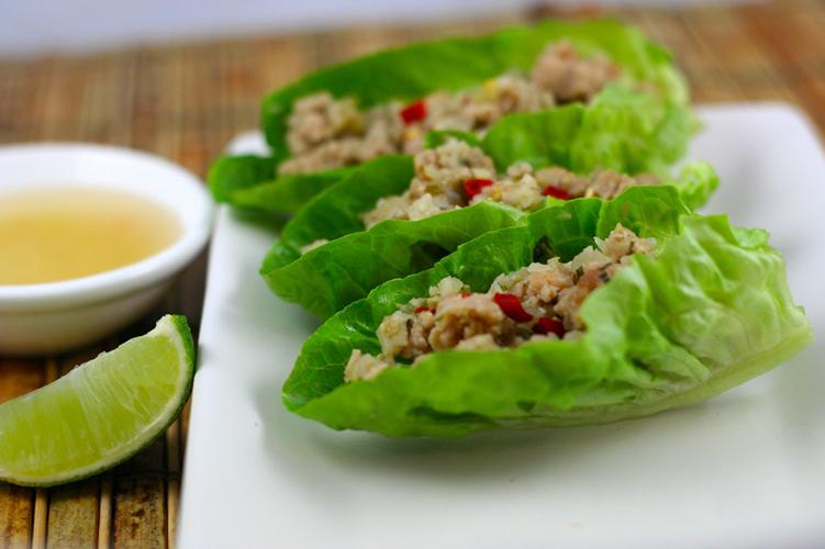 thai-chicken-lettuce-cups